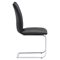 Anjou Dining Chair - Black - ZM-100120