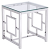 Geranium Side Table - Stainless Steel
