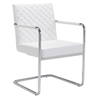 Quilt Dining Chair - White