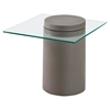 Monolith Side Table - Cement