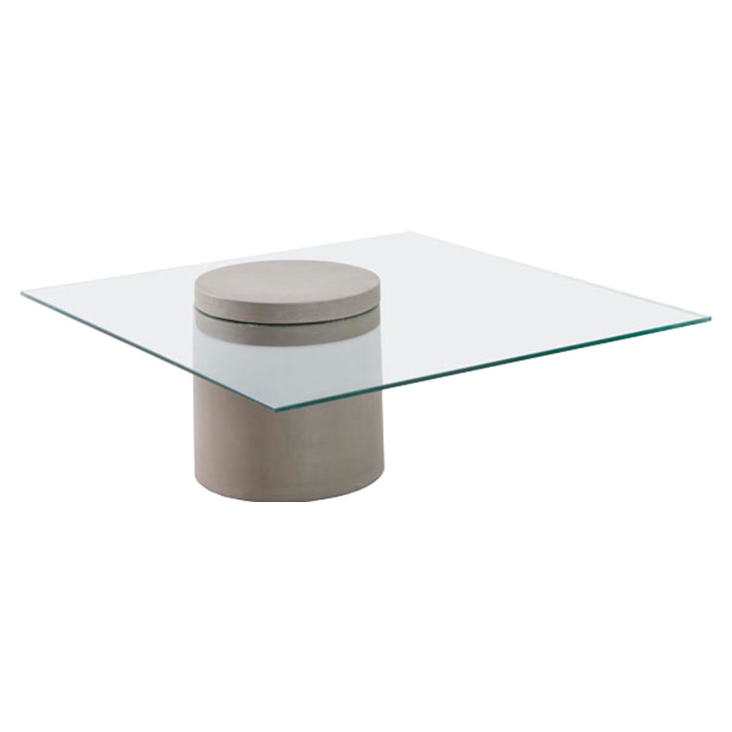 Monolith Coffee Table - Cement