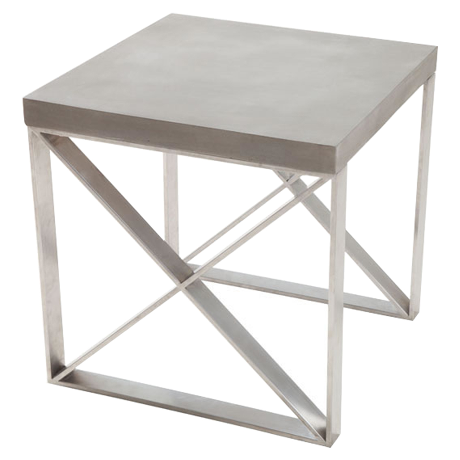 Paragon Side Table - Cement