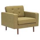 Puget Arm Chair - Tufted, Green