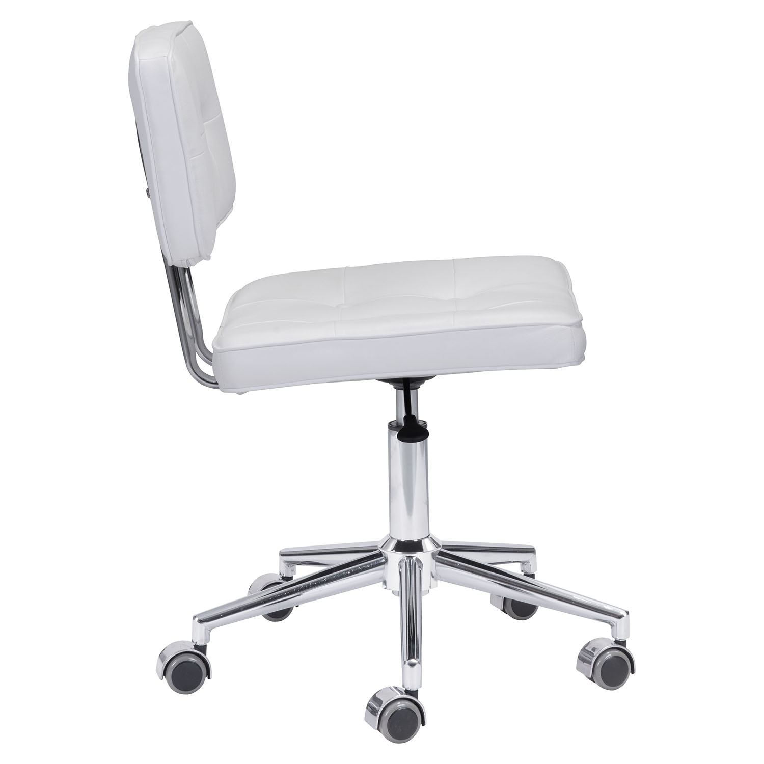 Series Tufted Office Chair - White - ZM-100237