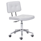 Series Tufted Office Chair - White