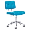 Series Tufted Office Chair - Blue