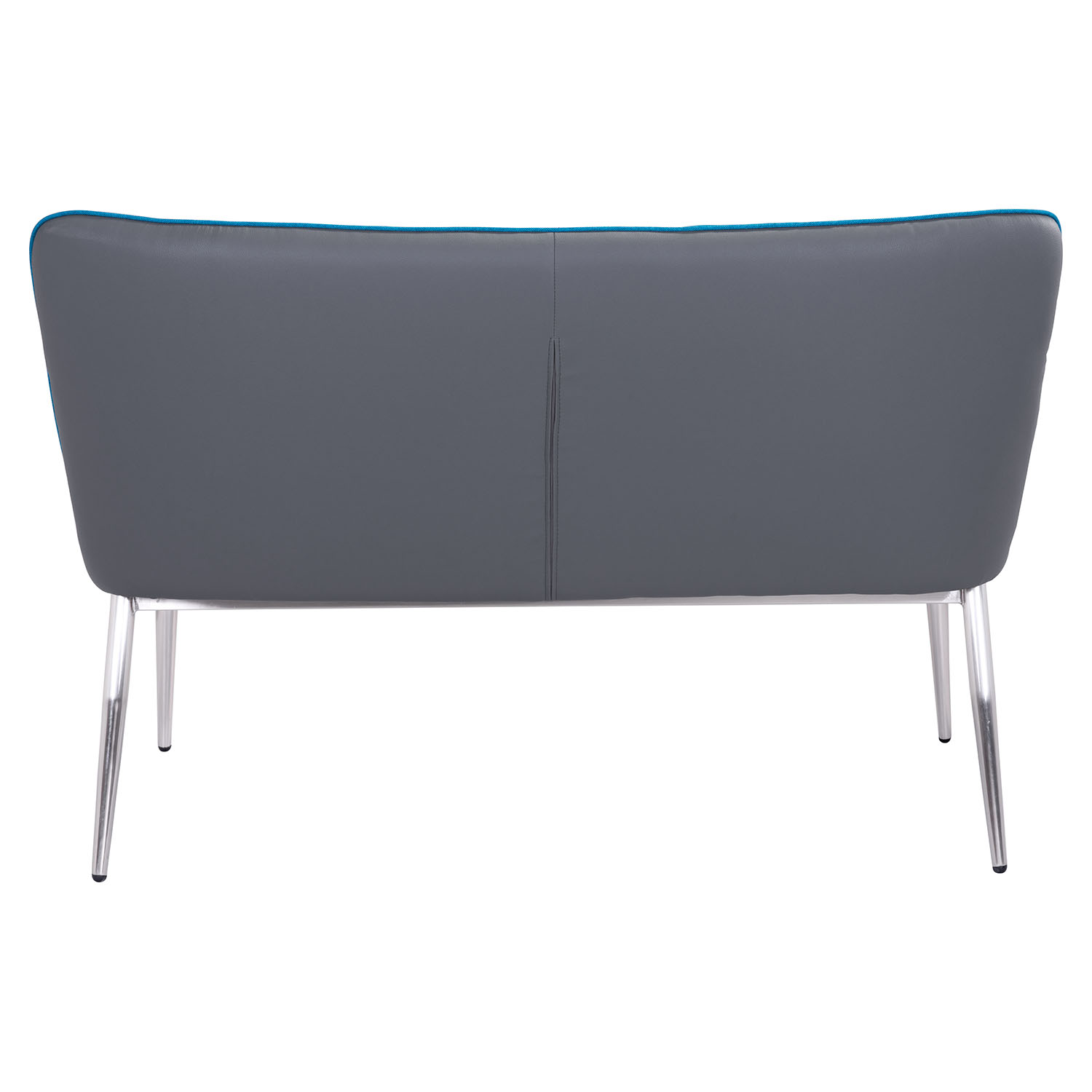 Hope Bench - Tufted, Blue and Gray - ZM-100241