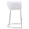Latte Backless Bar Chair - White - ZM-100247