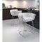 Latte Backless Counter Chair - White - ZM-100249