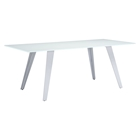 House Rectangular Dining Table - White