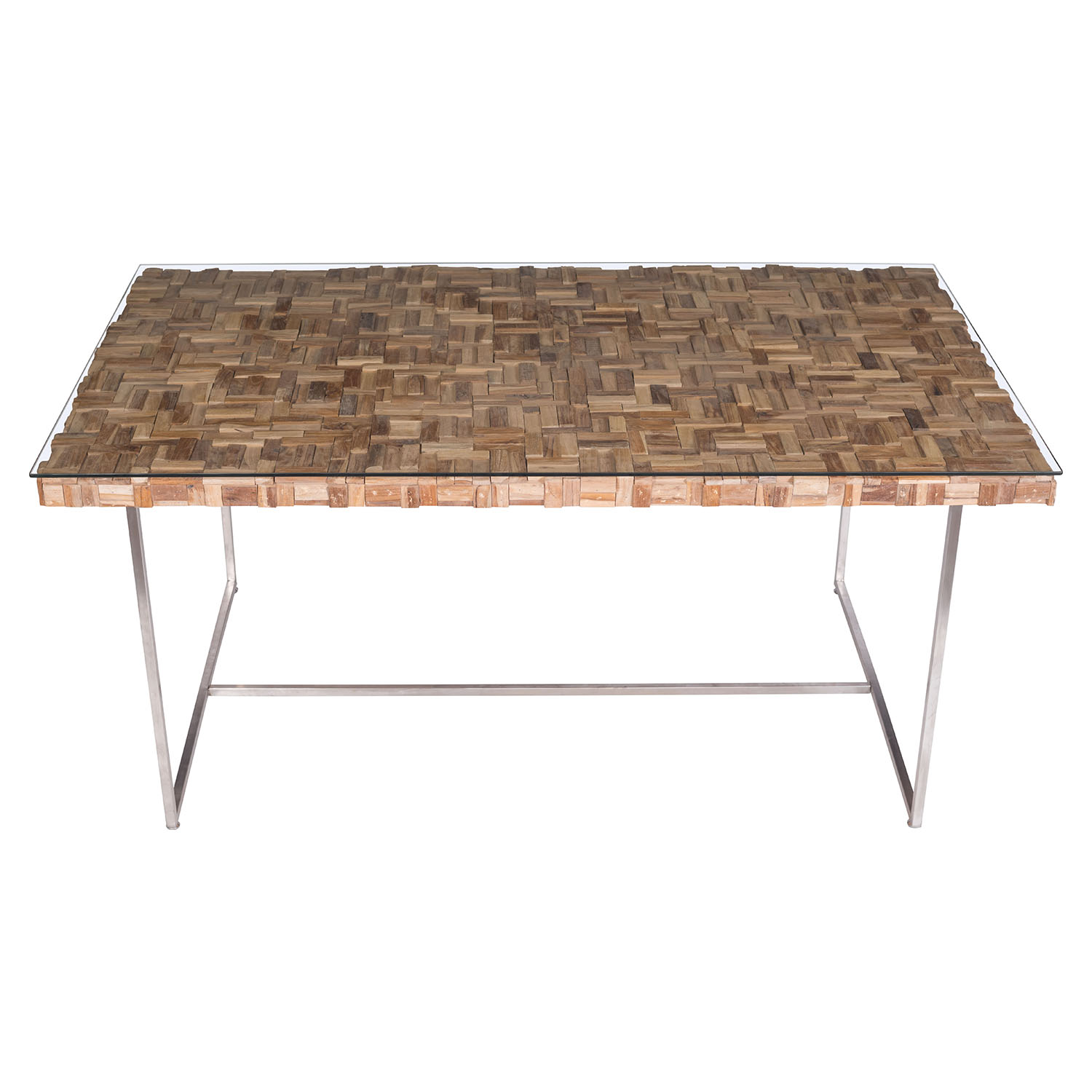 Collage Dining Table - Natural - ZM-100260