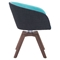 Wander Dining Chair - Blue and Gray - ZM-100268