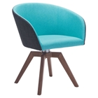 Wander Dining Chair - Blue and Gray
