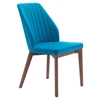 Vaz Dining Chair - Blue Velvet