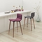 Jericho Counter Chair - Backless, Purple - ZM-100273