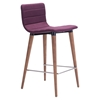 Jericho Counter Chair - Backless, Purple
