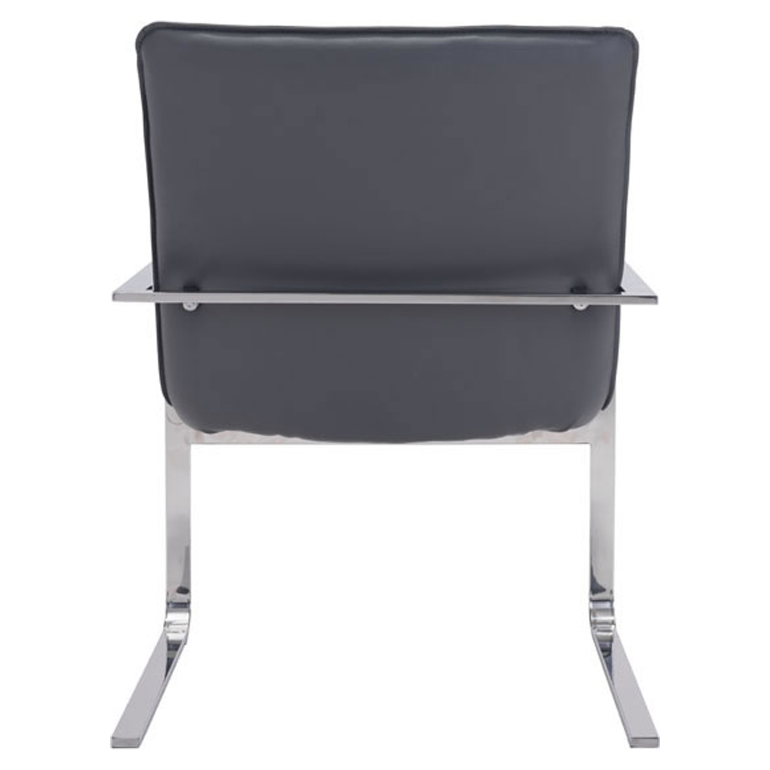 Solo Occasional Chair - Tufted, Gray - ZM-100276