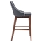 Moor Counter Chair - Dark Gray - ZM-100280