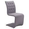 Hyper Dining Chair - Tufted, Beige