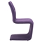 Hyper Dining Chair - Tufted, Purple - ZM-100287