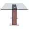 Oasis Dining Table - Walnut - ZM-100288