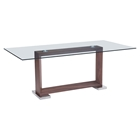 Oasis Dining Table - Walnut