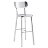 Winter Bar Chair - Stainless Steel