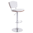 Tiger Bar Chair - Tufted, White