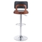 Lynx Bar Chair - Adjustable, Black - ZM-100317