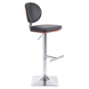 Lion Bar Chair - Adjustable, Black