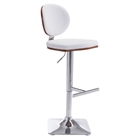 Lion Bar Chair - Adjustable, White