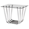 Fan Side Table - Chrome - ZM-100327
