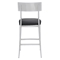 Mach Counter Chair - Black - ZM-100354