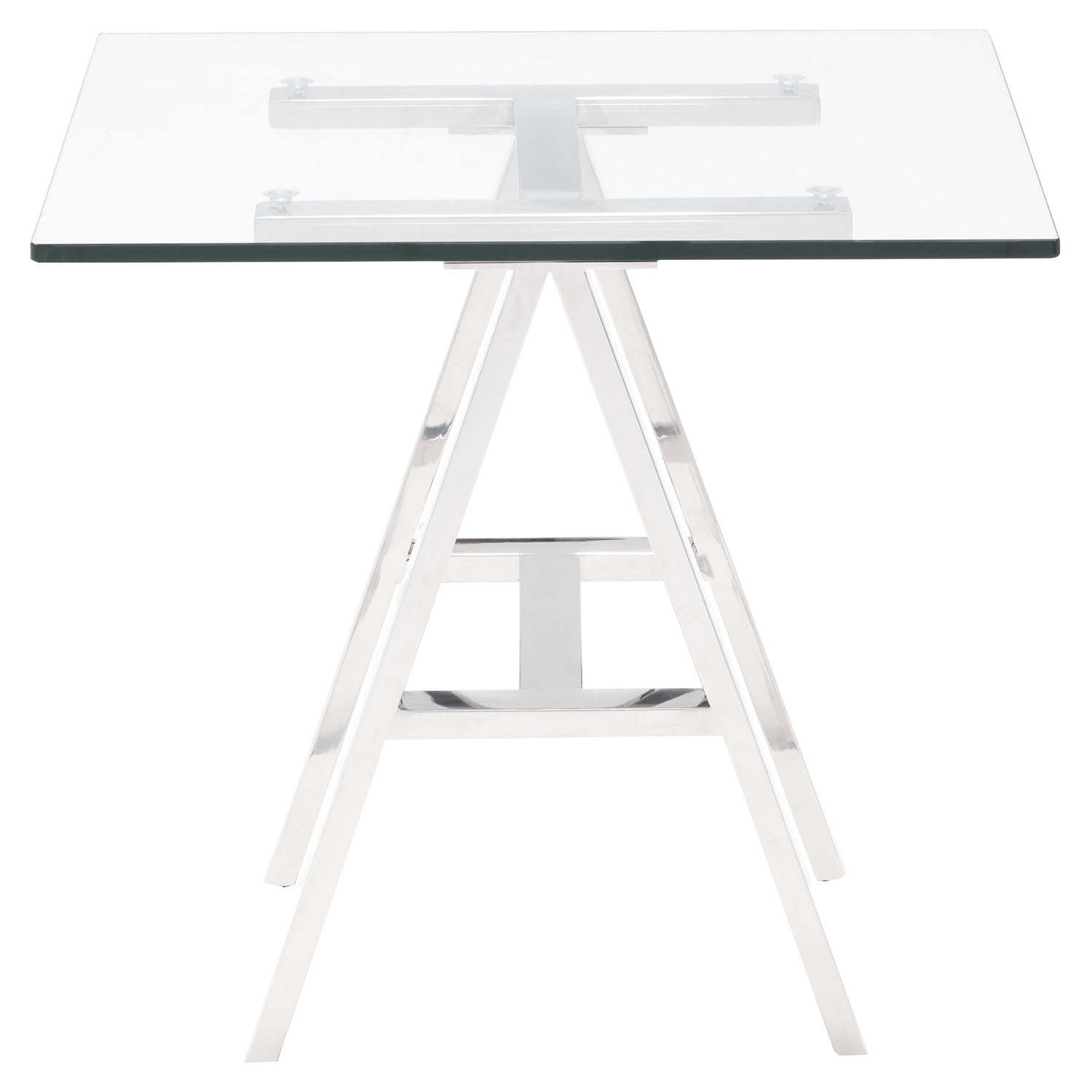 Lado Side Table - Chrome - ZM-100359