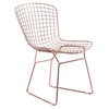 Wire Dining Chair - Rose Gold