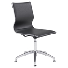 Glider Conference Chair - Black