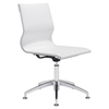 Glider Conference Chair - White