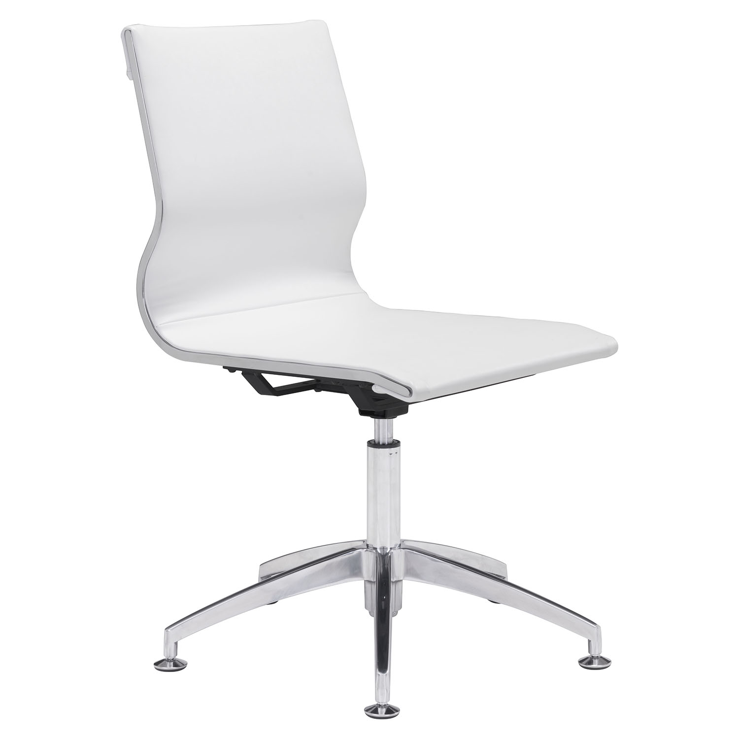 Glider Conference Chair - White - ZM-100378