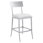Mach Counter Chair - White