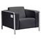 Thor Arm Chair - Black - ZM-100385