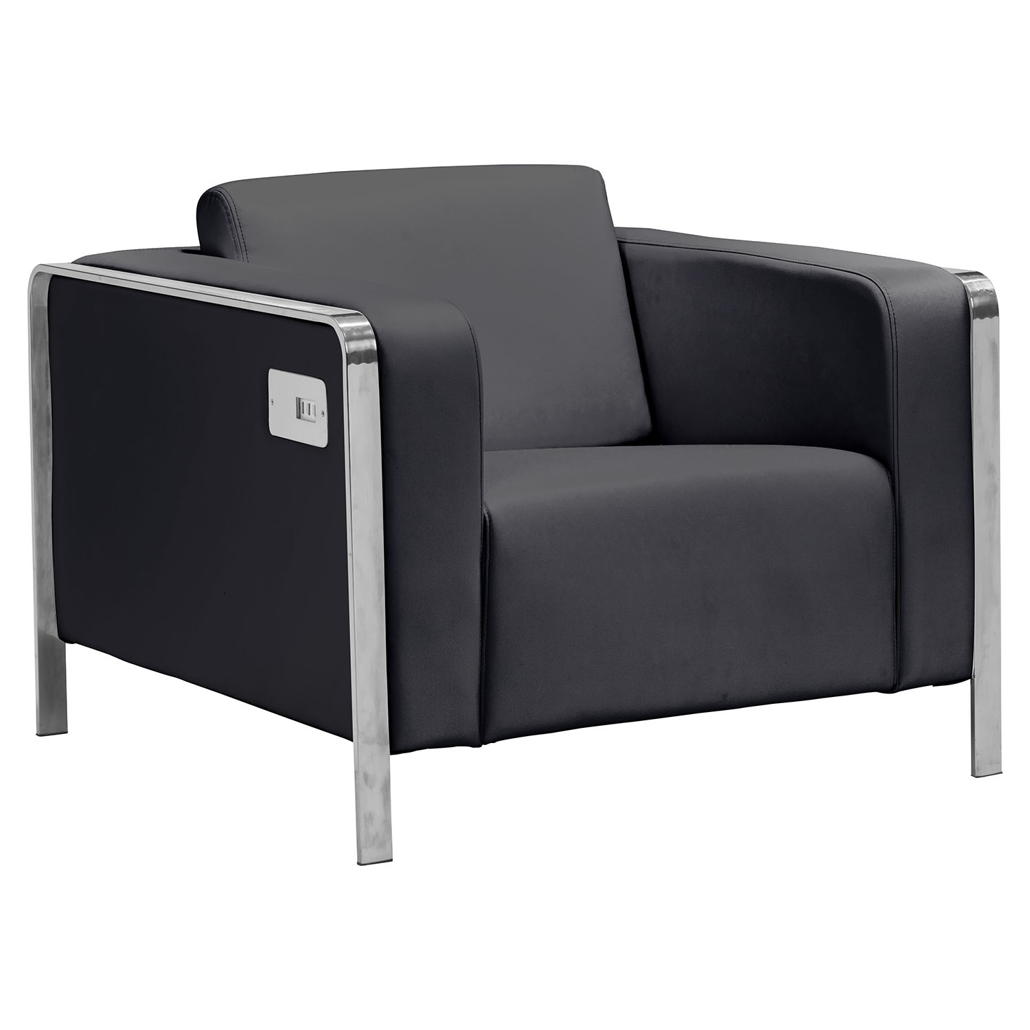 Thor Arm Chair - Black