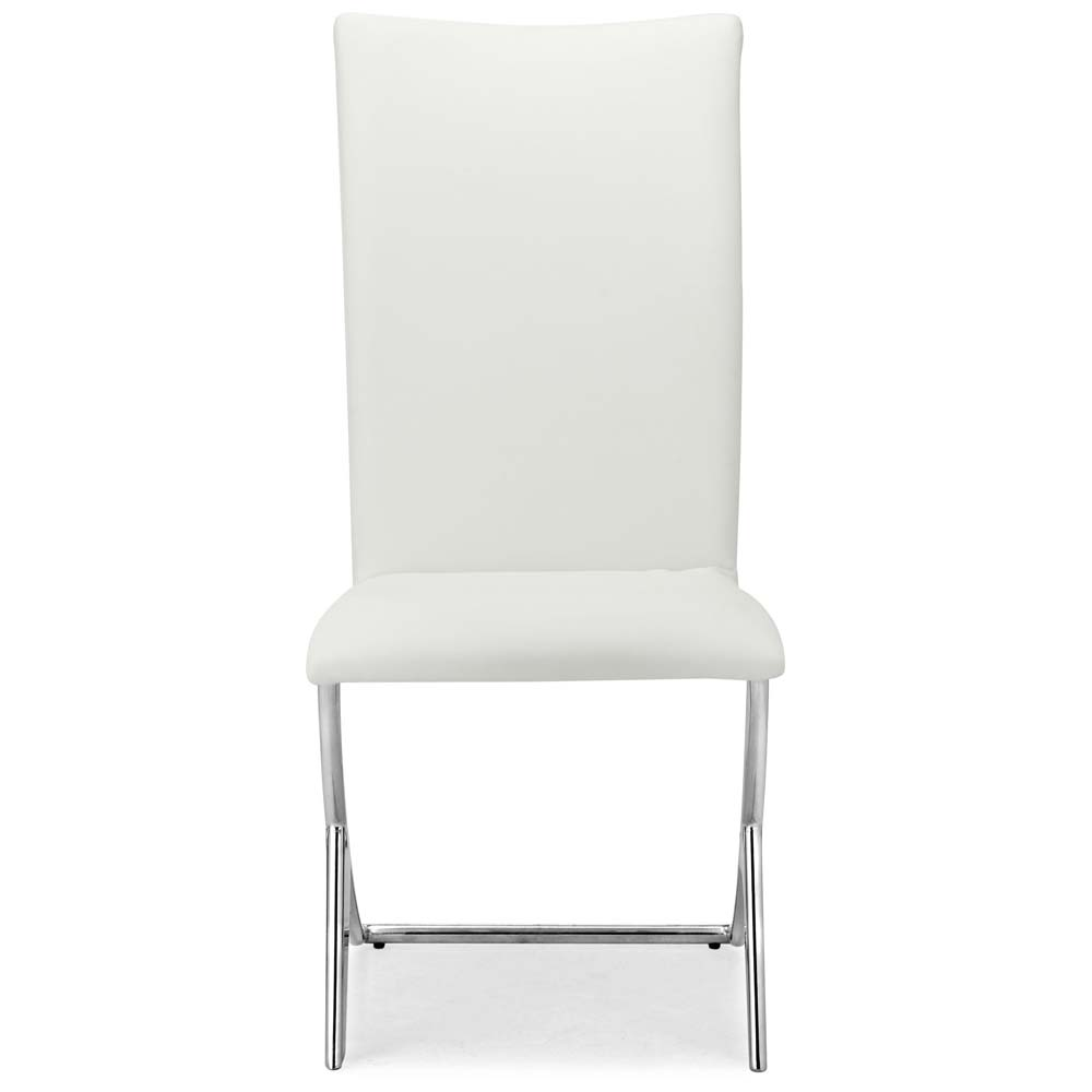 Delfi Dining Chairs in White - ZM-102102