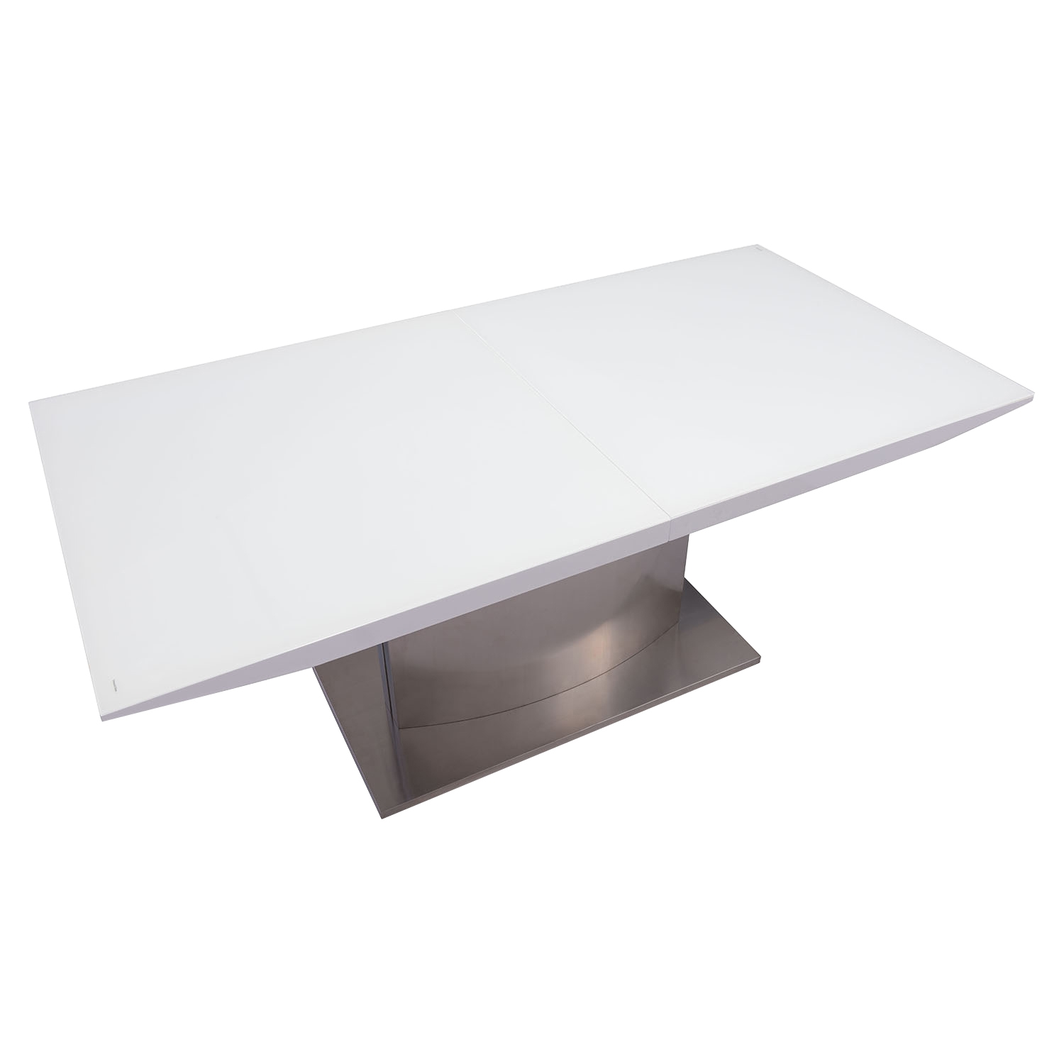 Pierrefronds Extension Dining Table - White - ZM-107860