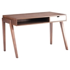 Linea Walnut Desk