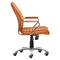 Enterprise Low Back Office Chair - Terracotta - ZM-205167