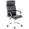 Lider Pro Office Chair - Chrome Steel, Black