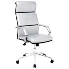 Lider Pro Office Chair - Chrome Steel, Silver