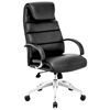 Lider Comfort Office Chair - Chrome Steel, Black