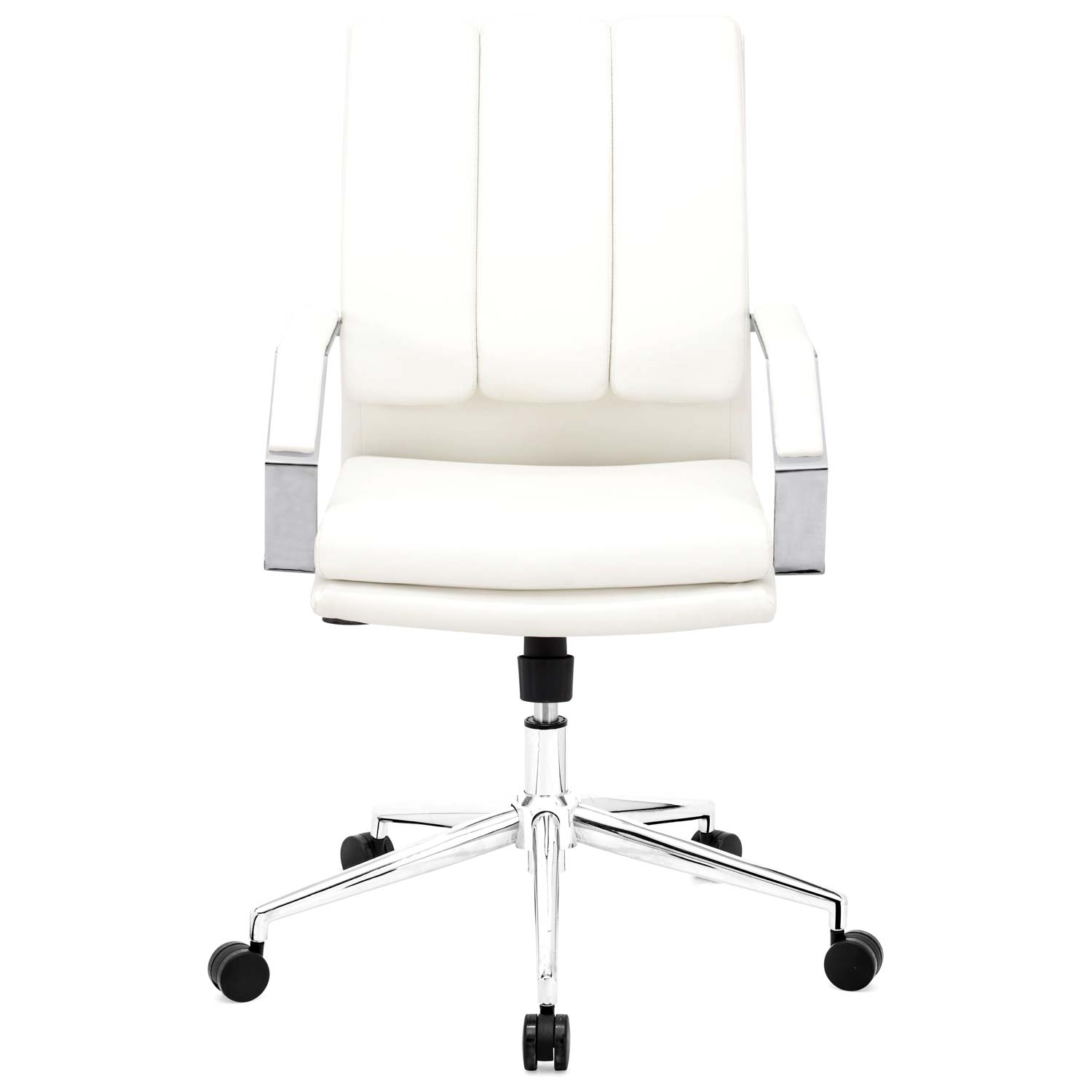 Director Pro Office Chair - Chrome Steel, White - ZM-205325