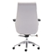Boutique Office Chair - Adjustable, Casters, White - ZM-205891